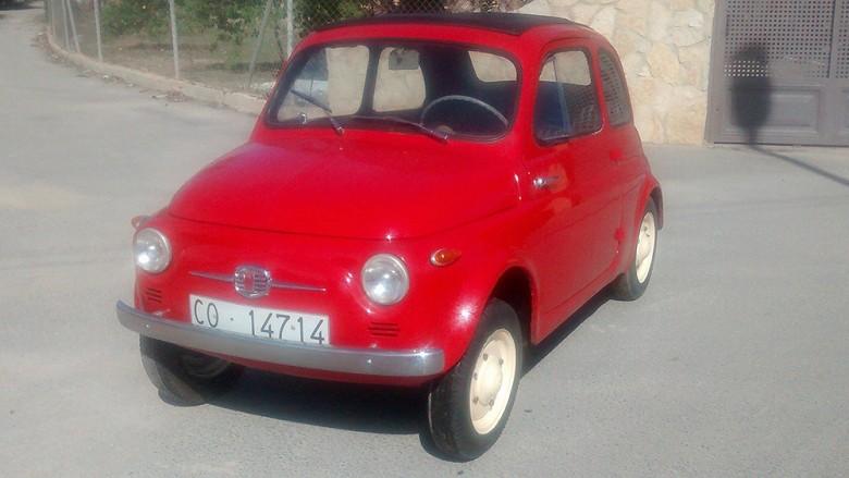 Fiat 500N Economica