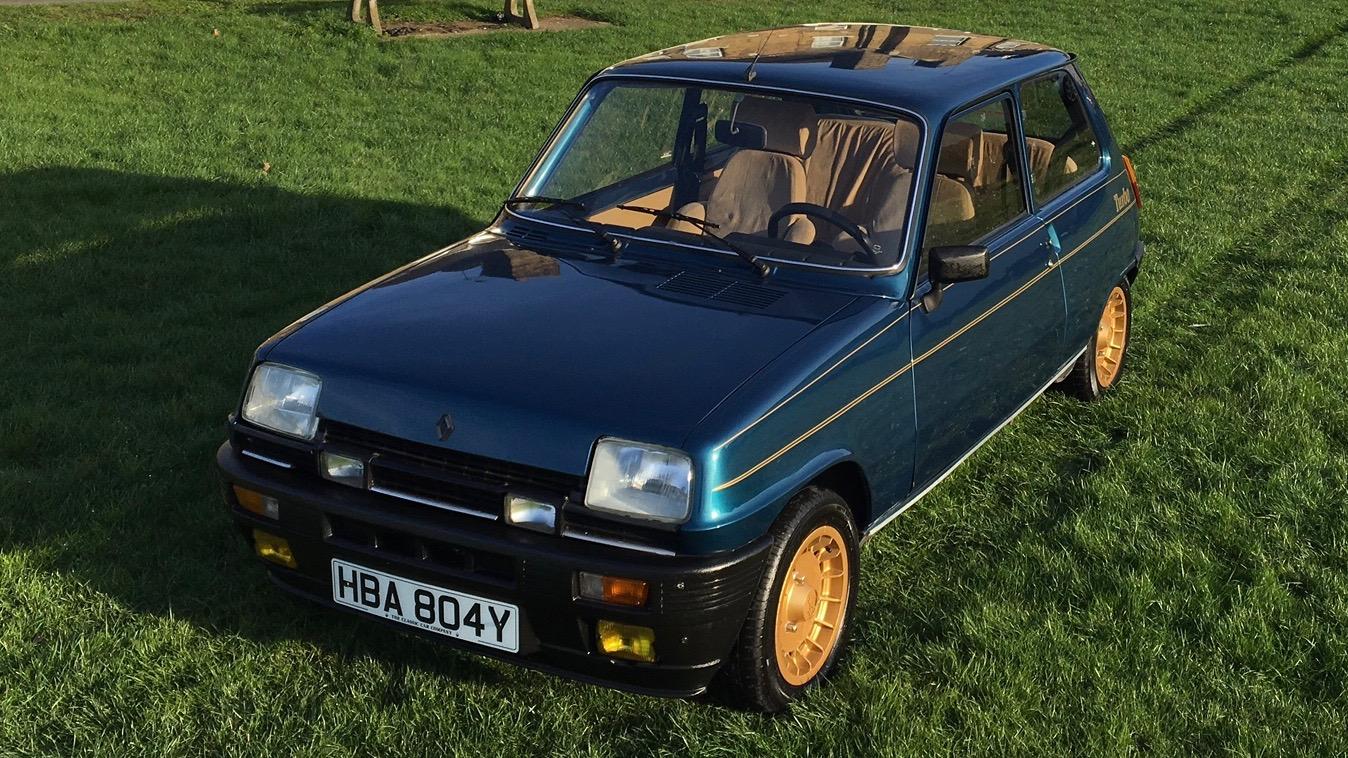 renault 5 alpine turbo the classic car company. Black Bedroom Furniture Sets. Home Design Ideas