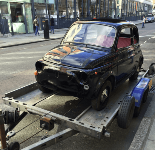 Restoring a Fiat 500L Part 1: Never drink and buy online!