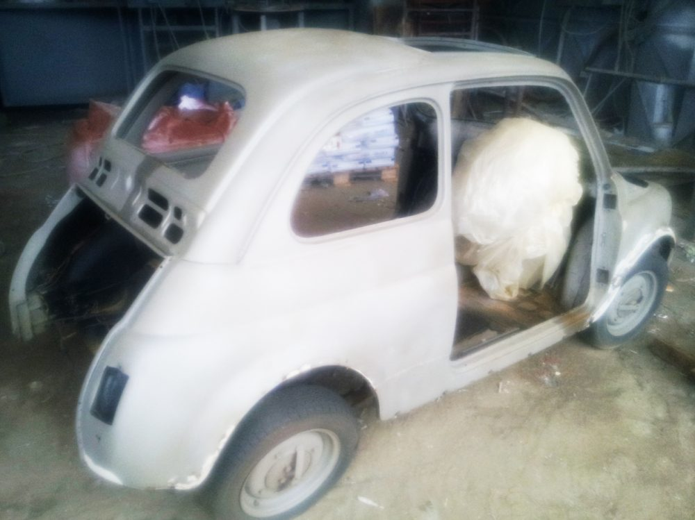 Restoring a Fiat 500L Part 2: What have we done?