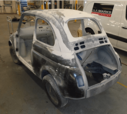 Restoring a Fiat 500L Part 4: Its all down hill from here!