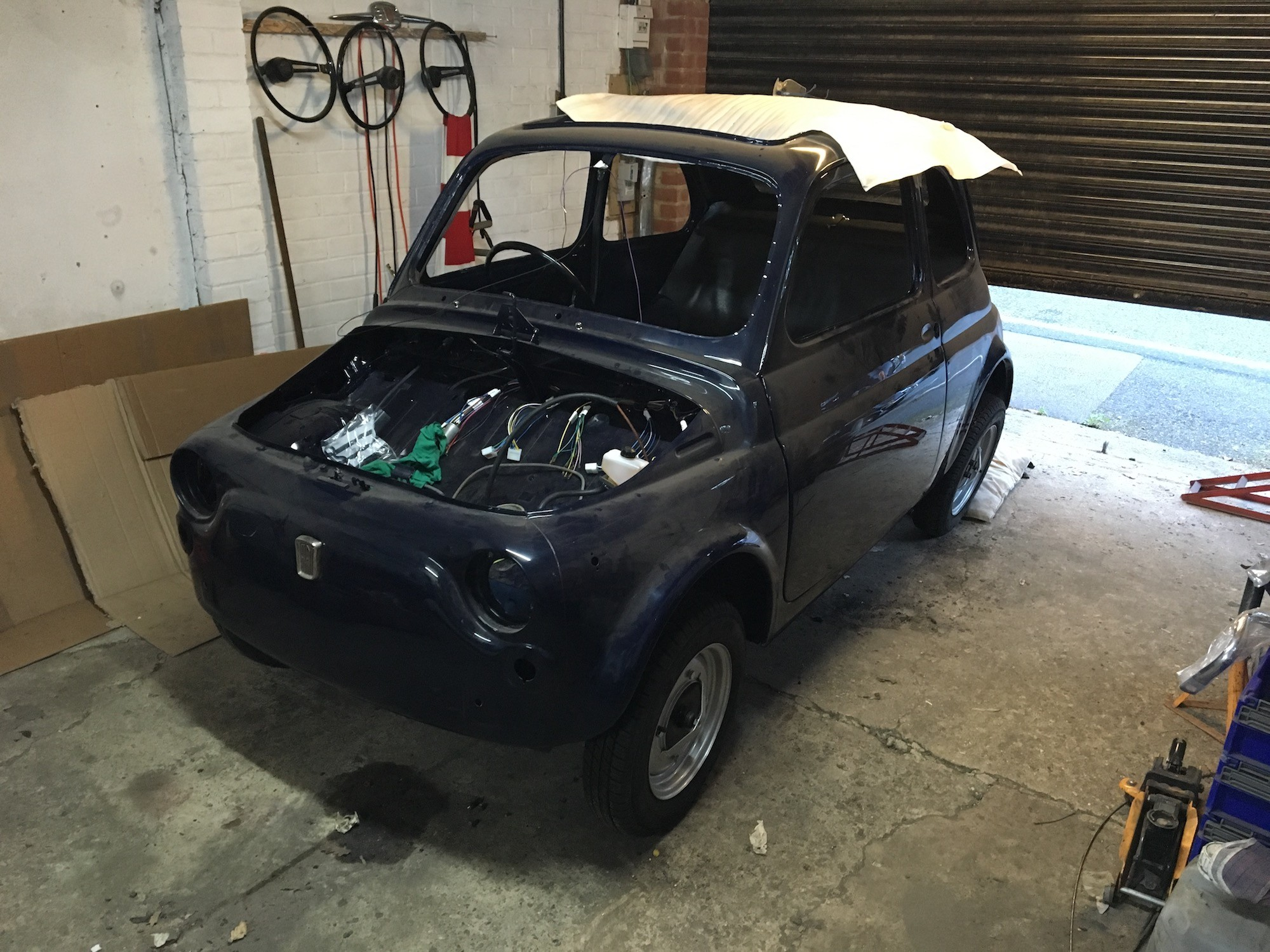 Restoring a Fiat 500L Part 5: The greasy bits!